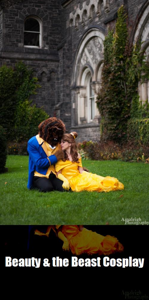 Beauty The Beast Cosplay 6