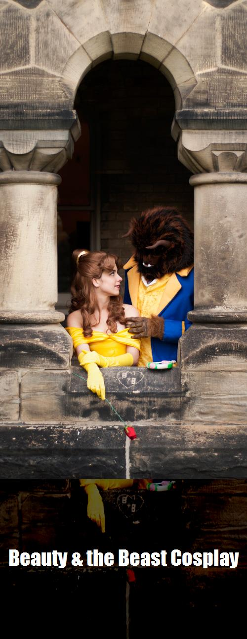 Beauty The Beast Cosplay 7