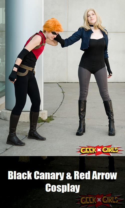 Black Canary Red Arrow Cosplay