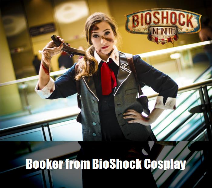 Booker From Bioshock Cosplay