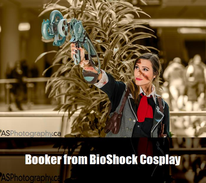 Booker From Bioshock Cosplay 2