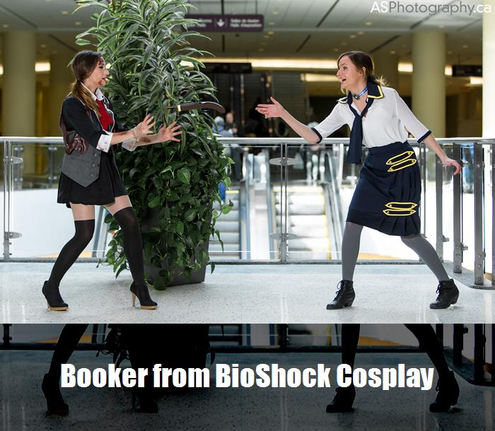 Booker From Bioshock Cosplay 3