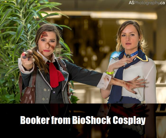 Booker From Bioshock Cosplay 4