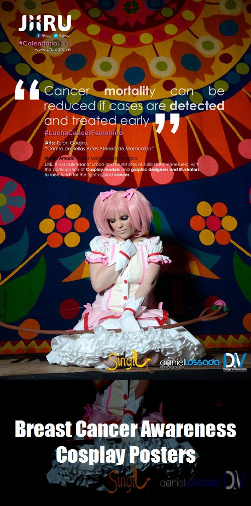 Breast Cancer Awareness Cosplay Posters