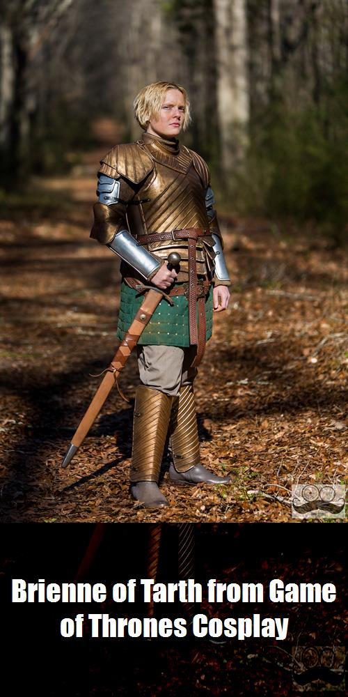 Brienne Of Tarth From Game Of Thrones Cosplay