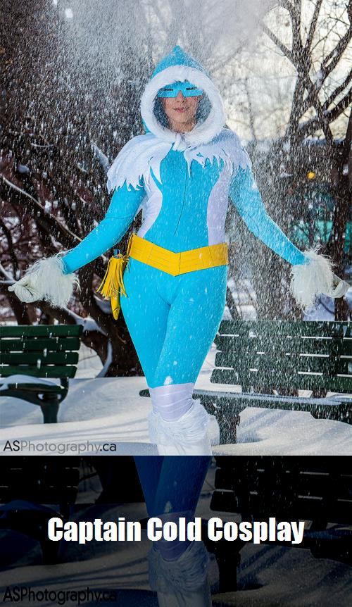 Captain Cold Cosplay