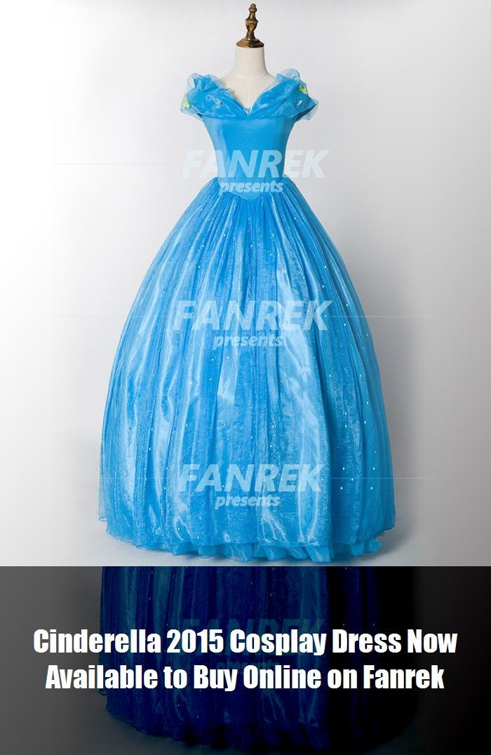 Cinderella 2015 Cosplay Dress Now Available To Buy Online On Fanrek