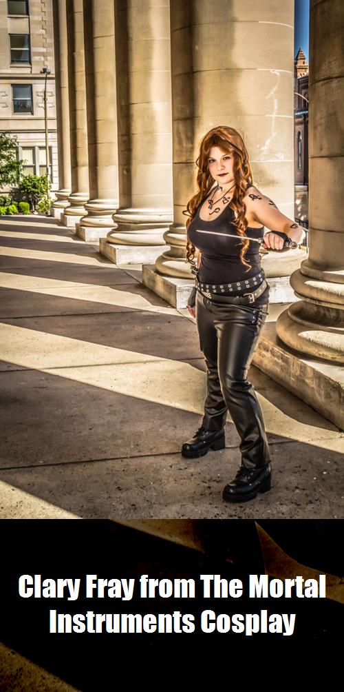 Clary Fray From The Mortal Instruments Cosplay