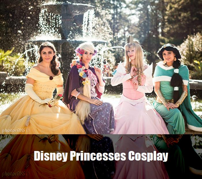 Disney Princesses Cosplay 1