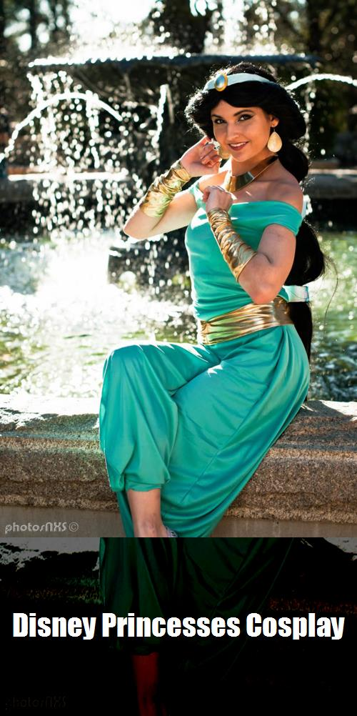 Disney Princesses Cosplay 3