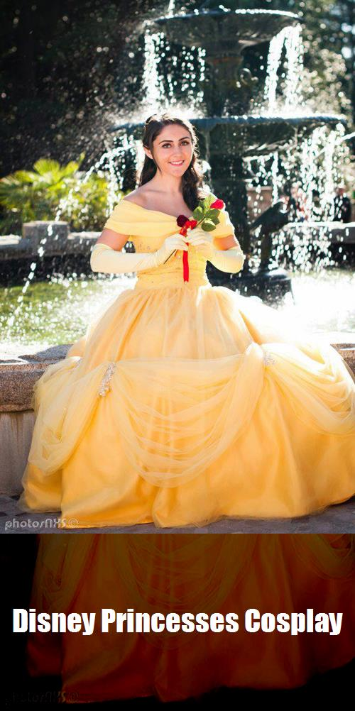 Disney Princesses Cosplay 8