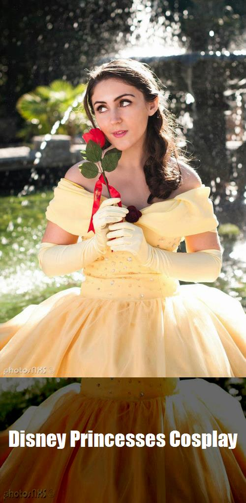 Disney Princesses Cosplay 9