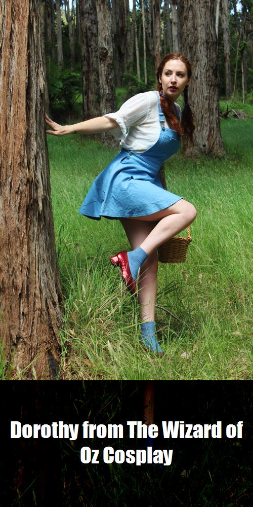 Dorothy From The Wizard Of Oz Cosplay