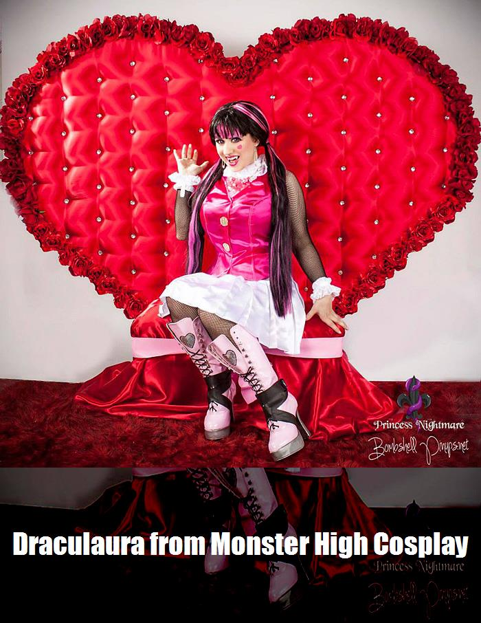 Draculaura From Monster High Cosplay