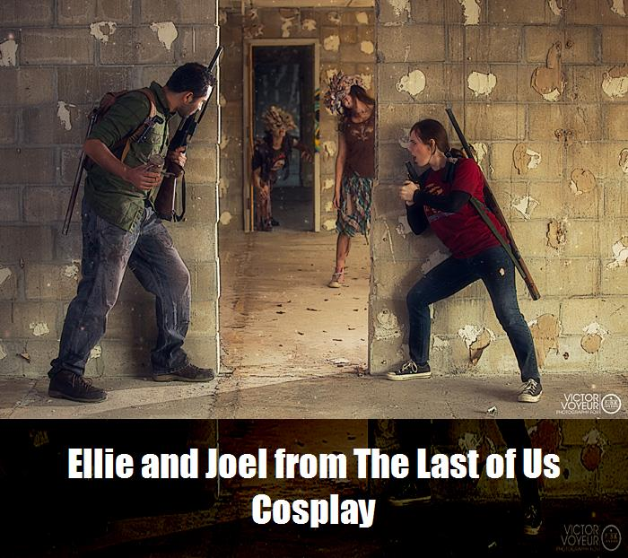 Ellie And Joel From The Last Of Us Cosplay