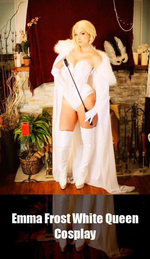 Emma Frost White Queen Cosplay