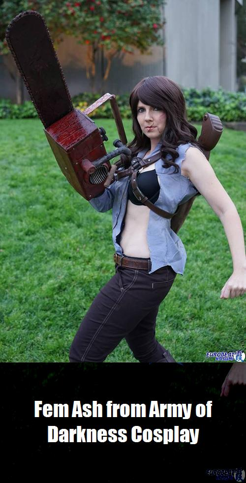 Fem Ash From Army Of Darkness Cosplay 3