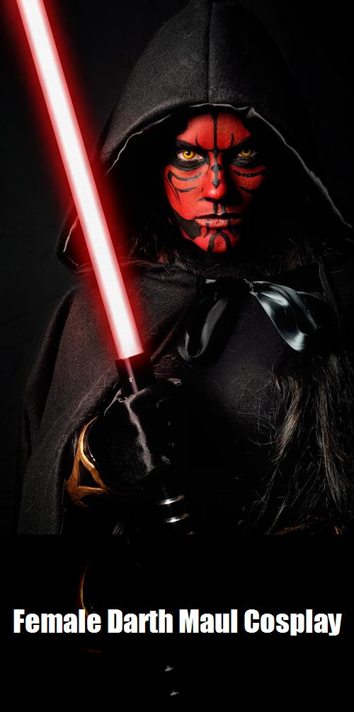 Female Darth Maul Cosplay 1