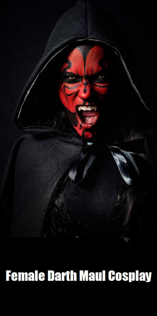 Female Darth Maul Cosplay 2