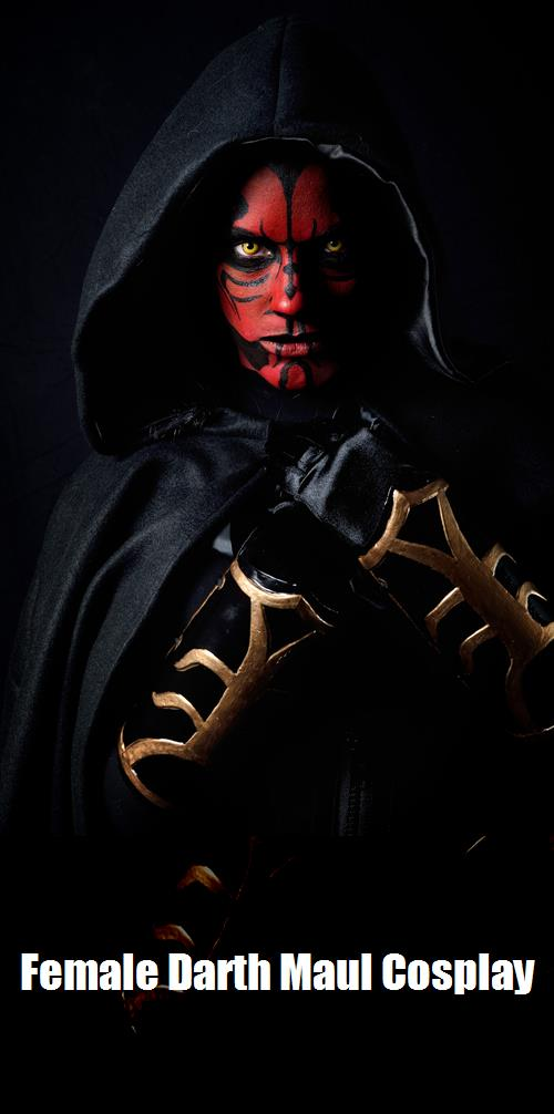 Female Darth Maul Cosplay 3