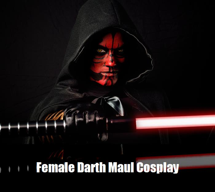 Female Darth Maul Cosplay 4