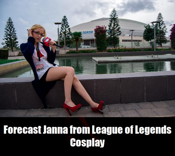 Forecast Janna From League Of Legends Cosplay