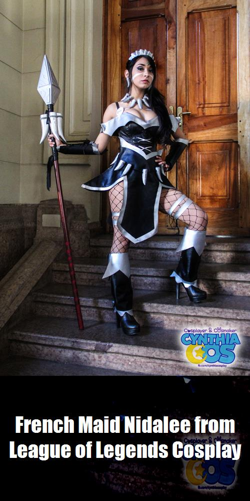 French Maid Nidalee From League Of Legends Cosplay