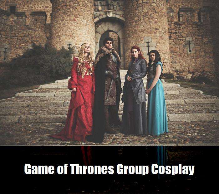 Game Of Thrones Group Cosplay