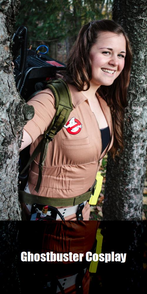 Ghostbuster Cosplay 3