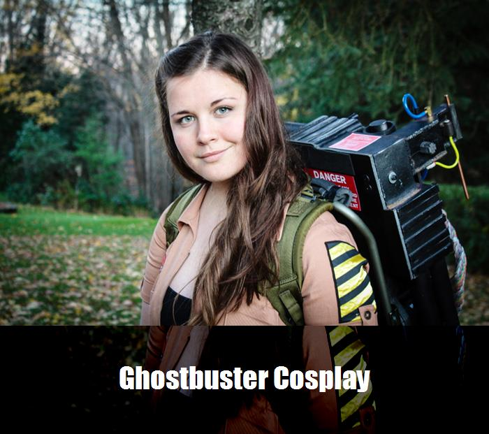 Ghostbuster Cosplay 5