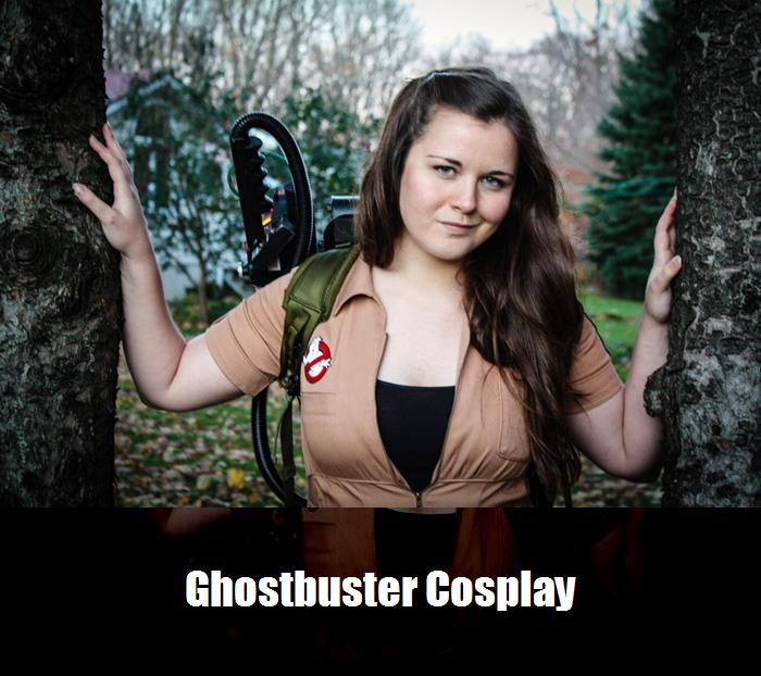 Ghostbuster Cosplay 7