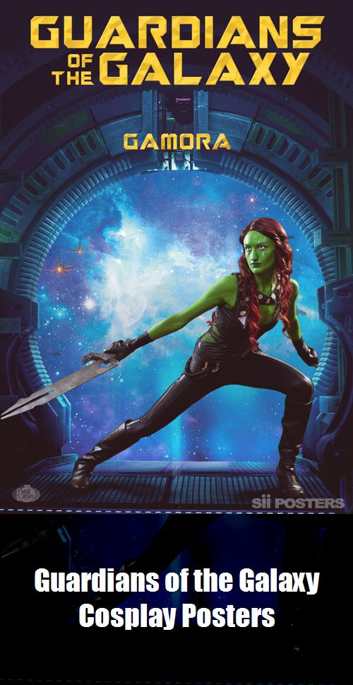 Guardians Of The Galaxy Cosplay Posters