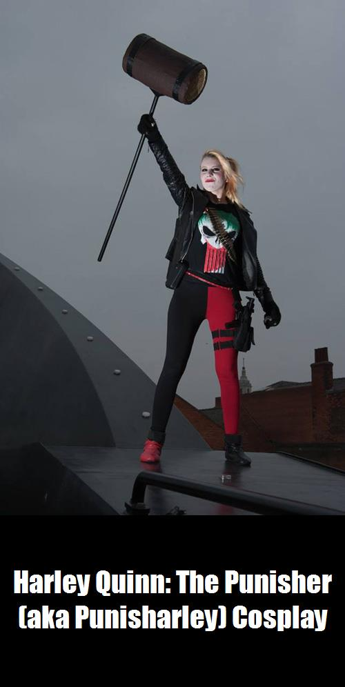 Harley Quinn The Punisher Aka Punisharley Cosplay 1