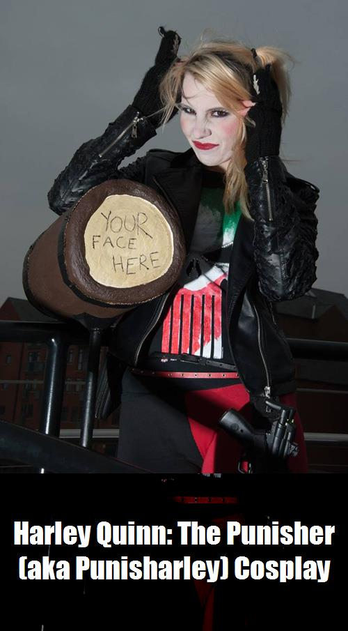 Harley Quinn The Punisher Aka Punisharley Cosplay 3