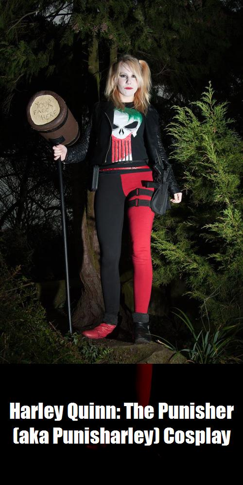 Harley Quinn The Punisher Aka Punisharley Cosplay 4