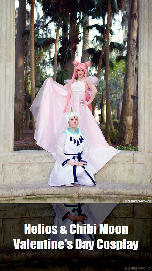 Helios Chibi Moon Valentines Day Cosplay 2