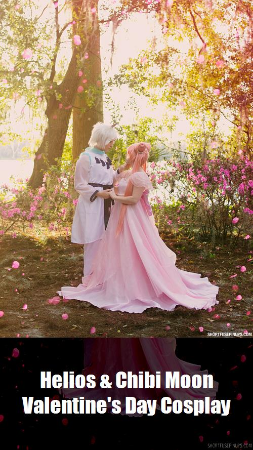 Helios Chibi Moon Valentines Day Cosplay 5