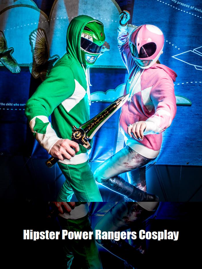 Hipster Power Rangers Cosplay 3