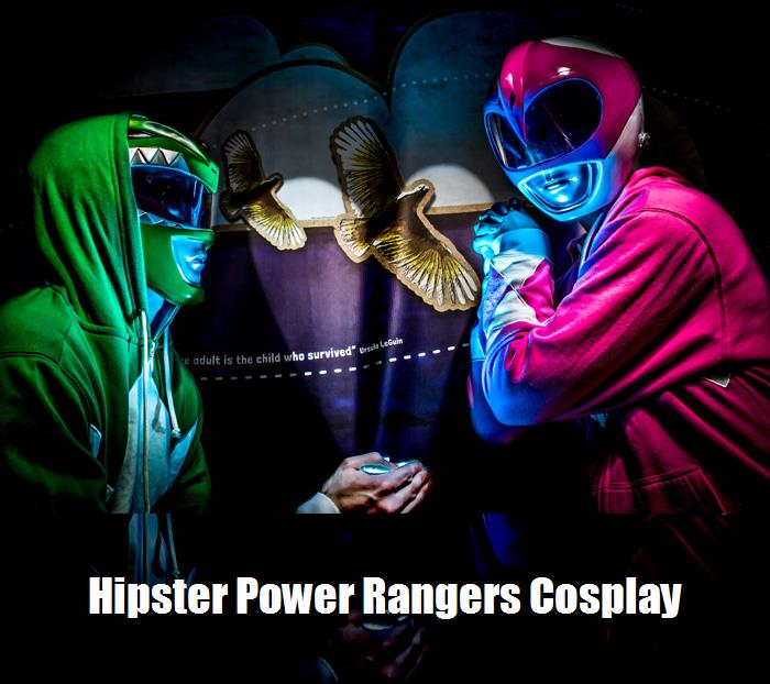 Hipster Power Rangers Cosplay 4