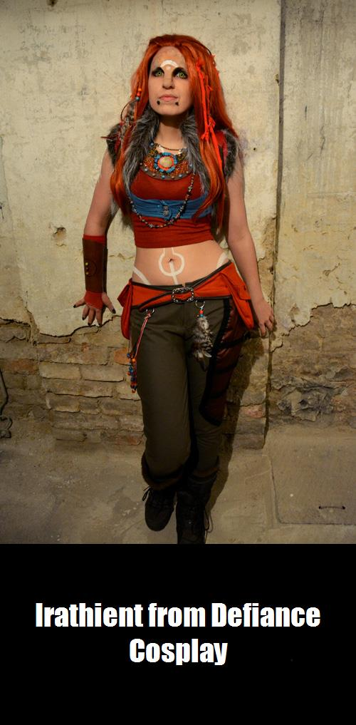 Irathient From Defiance Cosplay