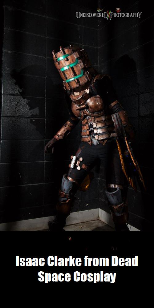 Isaac Clarke From Dead Space Cosplay 1