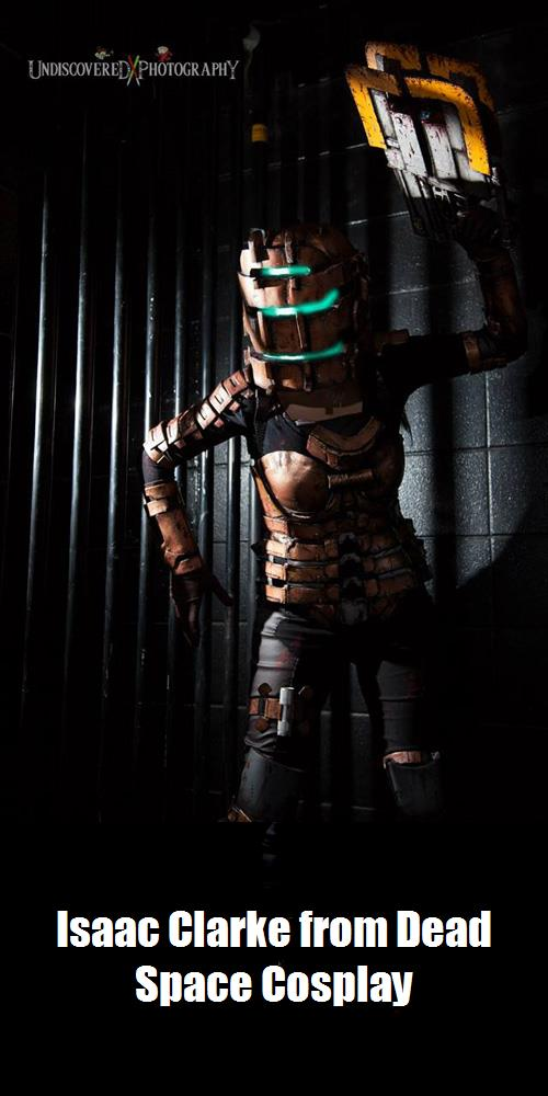Isaac Clarke From Dead Space Cosplay 2