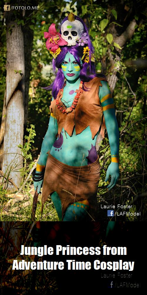Jungle Princess From Adventure Time Cosplay