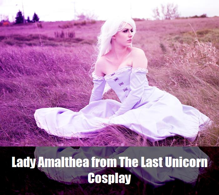 Lady Amalthea From The Last Unicorn Cosplay 2