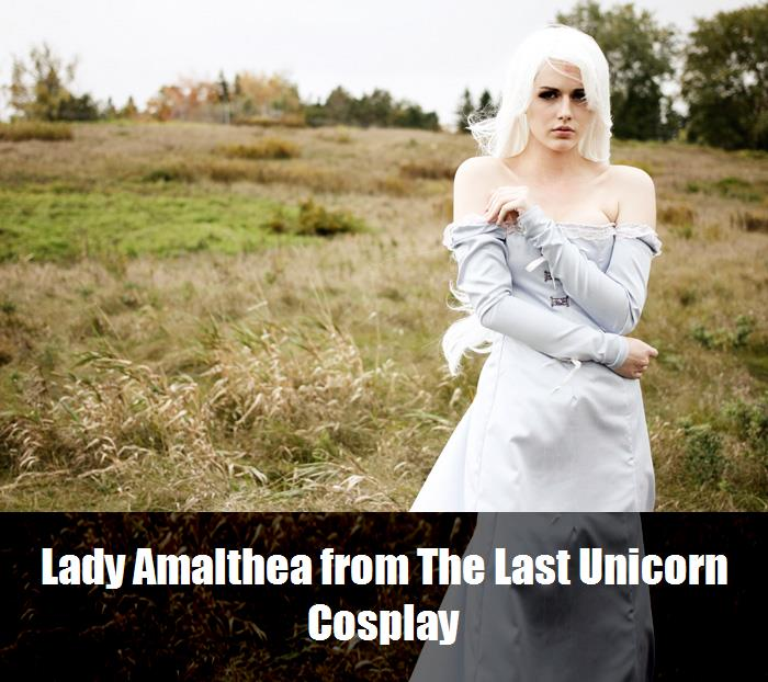 Lady Amalthea From The Last Unicorn Cosplay 3