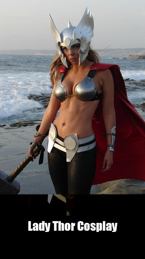 Lady Thor Cosplay
