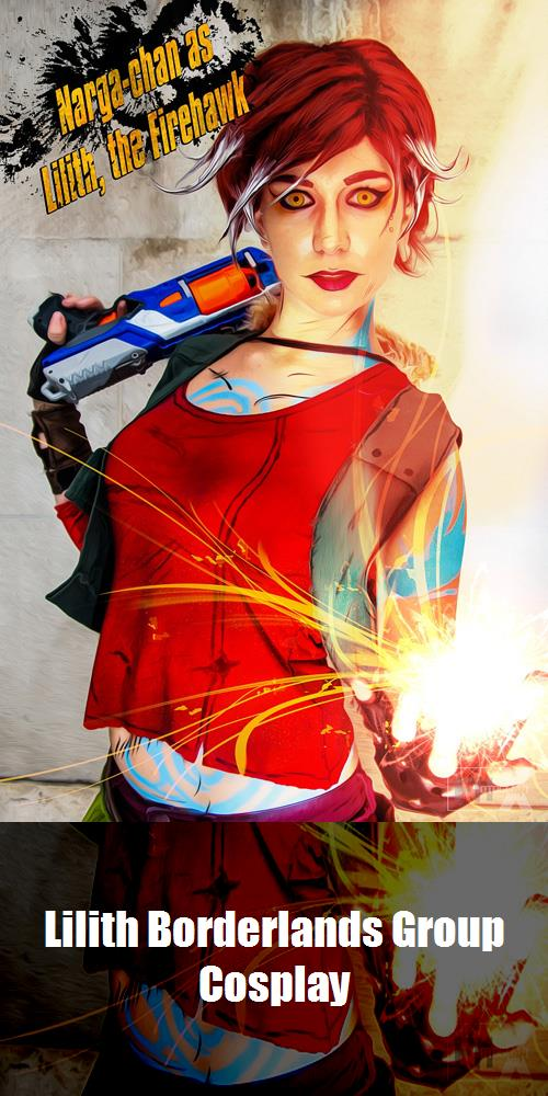 Lilith Borderlands Group Cosplay