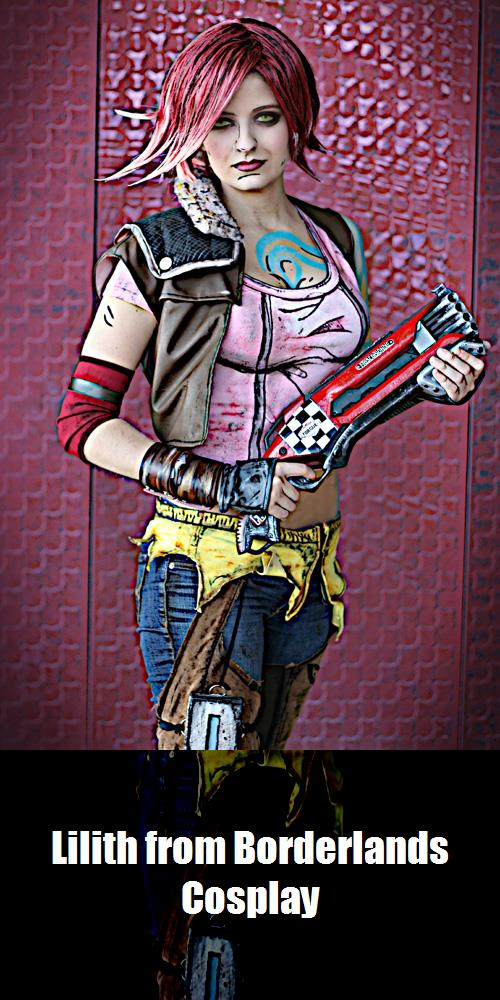 Lilith From Borderlands Cosplay