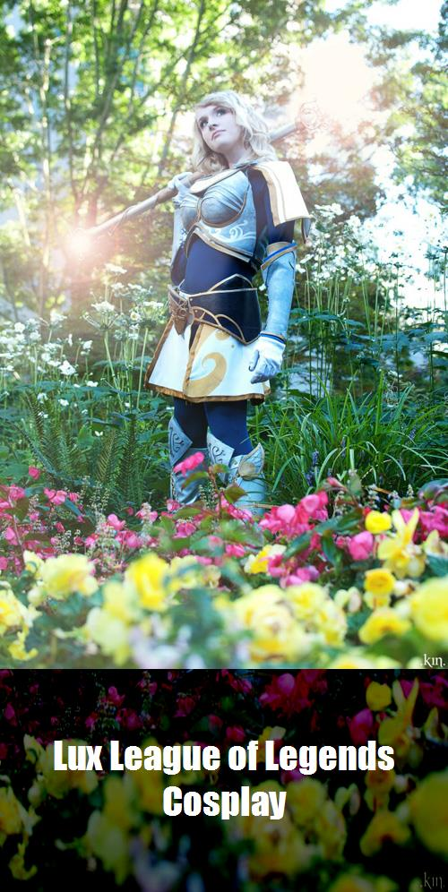 Lux League Of Legends Cosplay 1