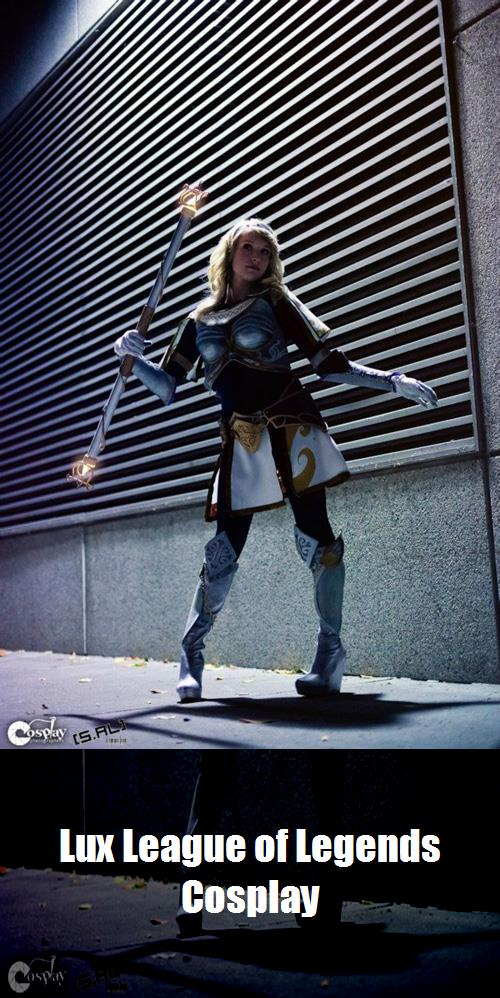 Lux League Of Legends Cosplay 3